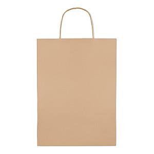 Papírová taška 26x11x36cm, béžová