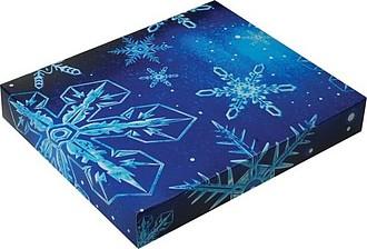 Krabička s plnobarevným potiskem, rozměr 19,6x17x3cm, potisk na přání od 20ks