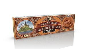 Francouzské sušenky - Etui Collector Sablés Caramel papír 125g