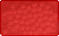 KREDITKA Mint karta s bonbony, červená