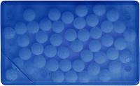 KREDITKA Mint karta s bonbony, modrá