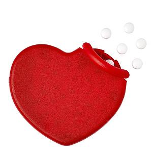 ELENI Mintové bonbony v obalu tvaru srdce