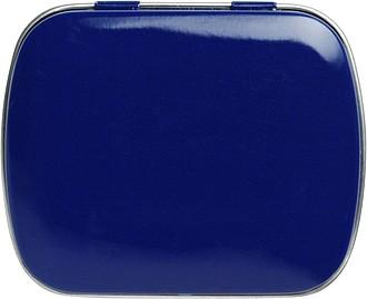 BOXÍK Plechová krabička s mintovými bonbony, modrá