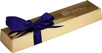 CIHLIČKA Čokoládové pralinky v dárkovém balení, zlaté barvy