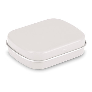 Krabička s mentolkami, 28g, bílá