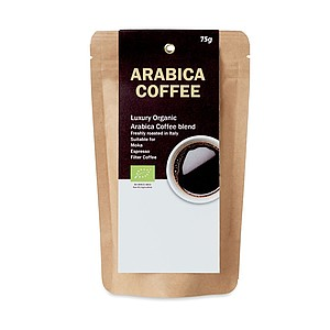 Bio káva Arabica 75g