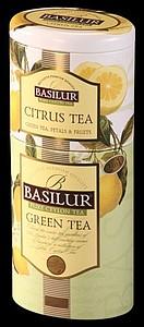BASILUR 2v1 Citrus & Green plech 50g & 75g