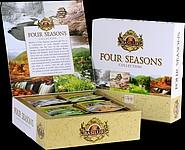 SENAR Směs černých a zelených porcovaných čajů, 70g