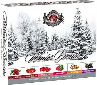 BASILUR- Winter Berries Assorted přebal 60 gastro sáčků