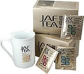 Dárková sada černého čaje JAF TEA s hrníčkem, 5x10x2g
