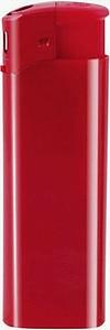 DALE Zapalovač piezo plastový, vínově červený