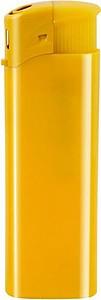 DALE Zapalovač piezo plastový, žlutý