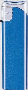 VLADO Zapalovač piezo, modrý metalický