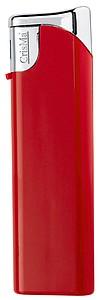 Elektronický barevný zapalovač, plnící, červená