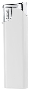 Elektronický barevný zapalovač, plnící, bílá