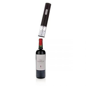 CELESTE Elektrická vývrtka na víno, včetně baterií, černá