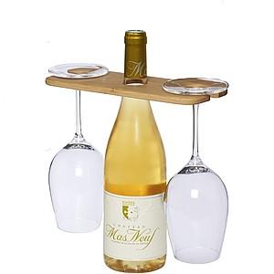 OSMAN Držák vína a dvou sklenic