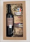 Dárkový balíček vína s krekry a paté