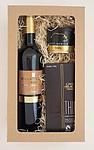 Dárkový balíček vína, čokolády a vepřové paštiky