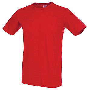 Tričko STEDMAN CLASSIC-T FITTED MEN červená M