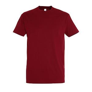 Tričko SOL´S IMPERIAL MEN, červenohnědá světlá, L