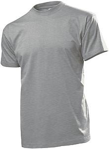 Tričko STEDMAN COMFORT MEN barva tmavě šedý melír S - reklamní trička