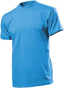 Tričko STEDMAN COMFORT MEN barva světle modrá M - reklamní trička