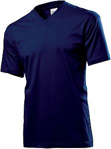 Tričko STEDMAN CLASSIC V-NECK tmavě modrá L