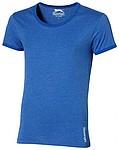 Tričko SLAZENGER CHIP T-SHIRT modrý melír L