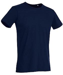 Tričko STEDMAN STARS BEN CREW NECK tmavě modrá XXL