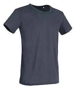 Tričko STEDMAN STARS BEN CREW NECK středně šedá L