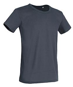 Tričko STEDMAN STARS BEN CREW NECK středně šedá XL