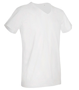 Tričko STEDMAN STARS BEN V-NECK bílá XL