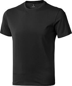 Tričko ELEVATE NANAIMO T-SHIRT antracitová M - reklamní trička