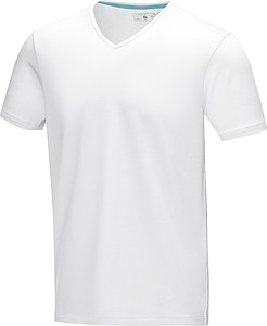 Tričko ELEVATE KAWARTHA V-NECK bílá M