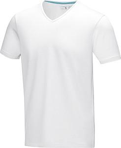 Tričko ELEVATE KAWARTHA V-NECK bílá L - reklamní bundy
