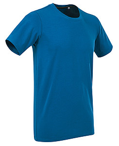 Tričko STEDMAN STARS CLIVE CREW NECK královská modrá L