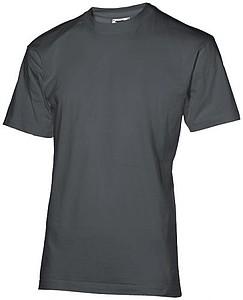Tričko SLAZENGER RETURN ACE T-SHIRT 200 tmavě šedá XL - reklamní bundy