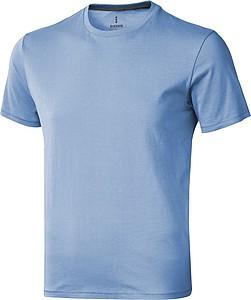 Tričko ELEVATE NANAIMO T-SHIRT světle modrá XL - reklamní trička