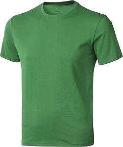 Tričko ELEVATE NANAIMO T-SHIRT středně zelená XXL - reklamní trička
