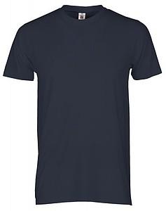 Tričko PAYPER PRINT barva námořní modrá XL - reklamní trička