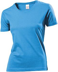 Tričko STEDMAN CLASSIC WOMEN barva světle modrá XL - reklamní trička