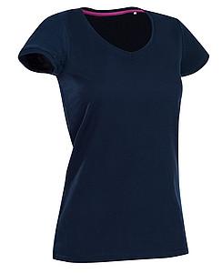 Tričko STEDMAN STARS MEGAN V-NECK tmavě modrá L