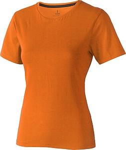 Tričko ELEVATE NANAIMO LADIES T-SHIRT oranžová 1655C, velikost M - reklamní bundy