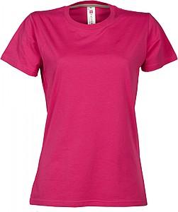 Dámské tričko PAYPER SUNRISE LADY růžová S - reklamní čepice