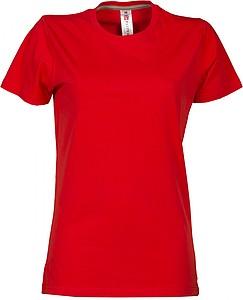 Dámské tričko PAYPER SUNRISE LADY červená L - reklamní čepice