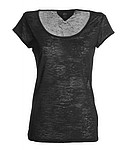 Tričko PAYPER FIRED LADY, barva černá, velikost L