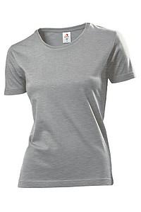 Tričko STEDMAN COMFORT-T WOMEN barva tmavě šedý melír M