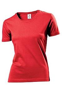 Tričko STEDMAN COMFORT-T WOMEN barva červená XL - reklamní trička