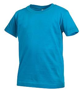 Tričko STEDMAN CLASSIC JUNIOR barva tyrkysová S - reklamní trička